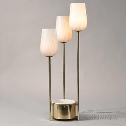 Table Lamp with Planter
