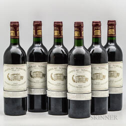 Chateau Margaux 1989, 6 bottles
