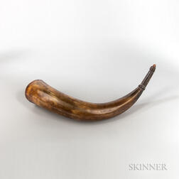 Powder Horn Identified to Stephen Parks of Concord, Massachusetts