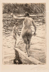 Anders Zorn (Swedish, 1860-1920)      Balance