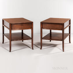Two T.H. Robsjohn-Gibbings for Widdicomb End Tables