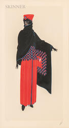 Romain De Tirtoff, called Erté (Russian, 1892-1990)      Zsa Zsa