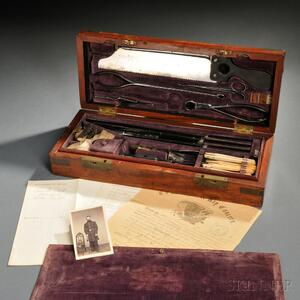 Surgeon's Medical Kit and Documents Related to Lucius Clarke, 13th Connecticut Volunteers