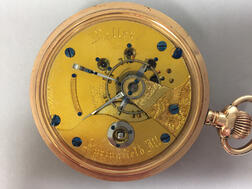 "Illinois Open-face Twenty-four-hour Dial ""Miller"" Watch"