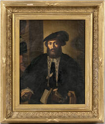 Continental School, 19th Century    Portrait of a Renaissance-period Scholar