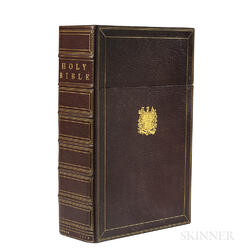 Thomas, Elias (1710-1779) Family Bible. The Holy Bible.