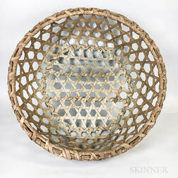 Woven Splint Cheese Basket