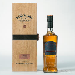 Bowmore 28 Years Old 1981, 1 750ml bottle
