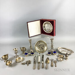 Group of Sterling Silver Tableware