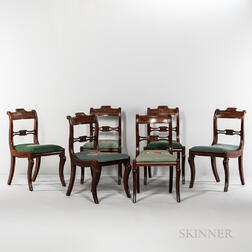 """Set of Six """"Grecian"""" Side Chairs"""