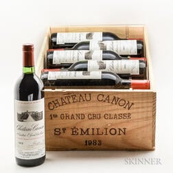 Chateau Canon 1983, 12 bottles