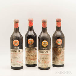 Prunotto, 4 bottles