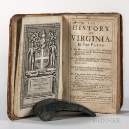 Beverley, Robert (1673-1722) The History of Virginia, in Four Parts.