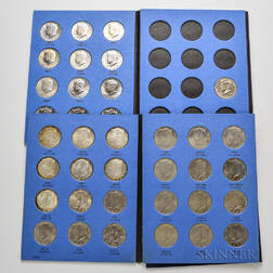 Set of Kennedy Half Dollars
