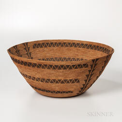 Large Western Mono Basket