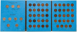 Complete Set of Indian Head Cents