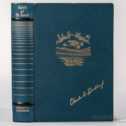 Lindbergh, Charles (1902-1974) Spirit of Saint Louis  , Swedish Limited Edition, Signed.