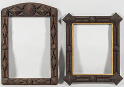 Two Tramp Art Frames