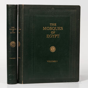 Creswell, Sir Keppel Archibald Cameron (1879-1974) The Mosques of Egypt from 21 H. (641) to 1365 H. 1946.