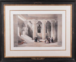 Roberts, David (1796-1864) Temple at Esneh.