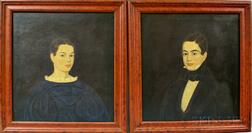 Three Framed Portraits of Siblings