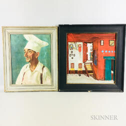 Two Framed Oil Paintings