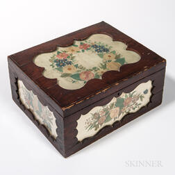 Floral Watercolor-decorated Box