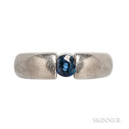 Platinum and Sapphire Ring, Richard Booth