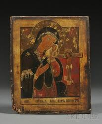 Russian Icon of the Akhtuirskaya Mother of God