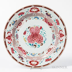 Famille Rose Export Porcelain Charger