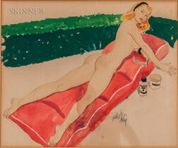 Gilbert Darling (American, 20th Century)    Bathing Beauty