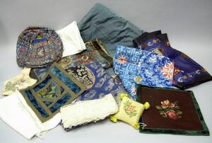 Assorted Textiles and Sewing Notions