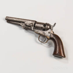 Colt Model 1849 Pocket Revolver Identified to Captain Phineas A. Davis, Richardson Light Infantry, 7th Independent Battery, Massachuset