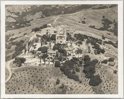 Hearst, William Randolph (1863-1951) Hearst Castle, Large Archive of Photographs, 1930s.