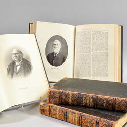 Four Genealogical Volumes of Boston and Eastern Massachusetts Families