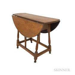 Country Cherry and Pine Drop-leaf Butterfly Table