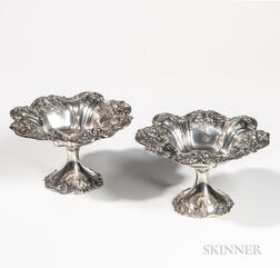 "Pair of Reed & Barton ""Francis I"" Pattern Sterling Silver Tazzas"