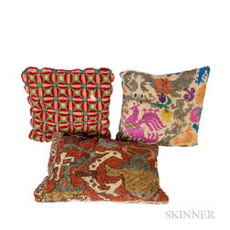 Three Antique Pillows
