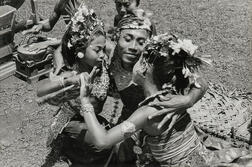 Henri Cartier-Bresson (French, 1908-2004)      The Alloeng Kotjok Dance in the Temple, Village of Sayan, Bali, Indonesia