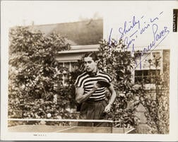 Power, Tyrone (1914-1958) Signed Photograph.