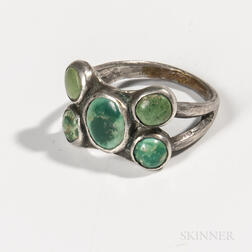 Navajo Silver and Turquoise Ring