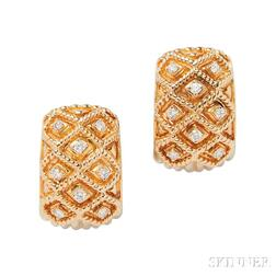 18kt Gold Earrings, Sabbadini