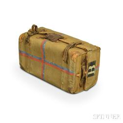 Hill & Millard Canvas-covered Suitcase with Document Pocket