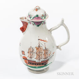 Export Porcelain Coffeepot