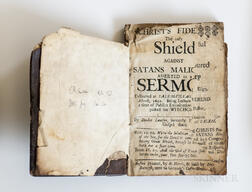 Lawson, Deodat (fl. circa 1690) Christs Fidelity the Only Shield against Satans Malice Asserted in a Sermon Delivered at Salem-Villag