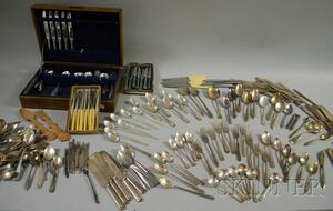 Approximately 250 Pieces of 20th Century Silver-plated Flatware