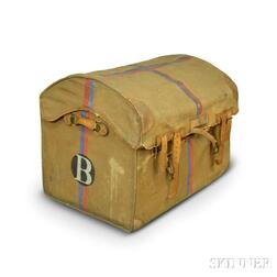 Carwood Canvas-covered Dome-top Trunk