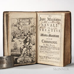 Molloy, Charles (1646-1690) De Jure Maritimo et Navali: or, a Treatise of Affairs Maritime and of Commerce.