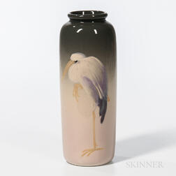 Leffler Eocean for Weller Pottery Stork Vase