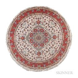 Tabriz Round Carpet